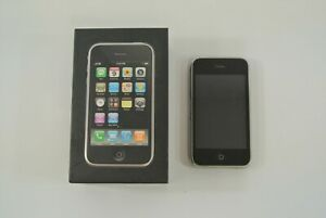 Apple iPhone 3G Black Model No. A1241 8GB Includes Box Holds Charge Locked?