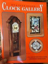 Stained Glass Clock Gallery Pattern Book