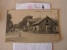 carte postale  vers 1900 paris route de st brice   sarcelles