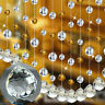 10PCS Chandelier Crystal Ball Lamp Prism Pendant Hanging Drop Home Wedding Decor