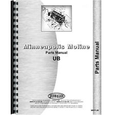 New Parts Manual Made For Minneapolis Moline Tractor Model Ubud