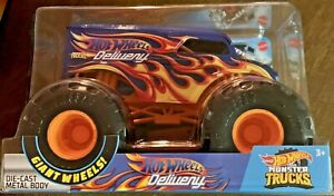 Hot Wheels 2020 Monster Trucks Hot Wheels Delivery #GCX23 1:24 Scale Diecast