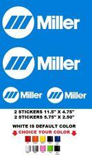 (#683) MILLER WELDER STICKER DECAL  MIG TIG STICK ANY COLOR