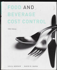 FOOD & BEVERAGE COST CONTROL - DOPSON & HAYES    FIFTH EDITION  bk