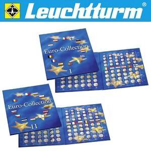 2 Münzalben für alle 24 Euro Länder 2×Sammelalbum/Münzalbum f.24 Euro•Münze•KMS