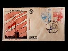 MONACO PREMIER JOUR FDC YVERT  1510+1515     MONACO       1+0,50F       1986
