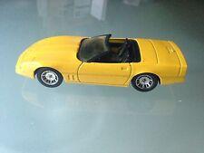 1/43 Solido HI-FI Corvette Cabriolet 1514 JAUNE