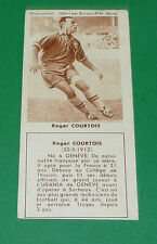FOOTBALL BISCUITS REM 1958 ROGER COURTOIS FC SOCHAUX TROYES AGEDUCATIFS PANINI