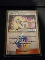 Pokemon Lusamine Prism Star 182/214 Holo Rare Lost Thunder Near Mint