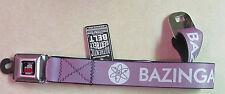 Big Bang Theory - Bazinga Seat Belt Style Belt - BRAND NEW - Very Cool