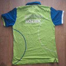 Petanque SLOVENIA National Jersey Match Worn Jure Kozjek European Champion 2014