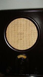 VE301 W Volksempfänger- vom Radiotechniker restauriert, spielt