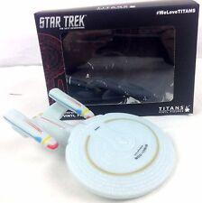 "STAR TREK Enterprise D Titan 4.5"" Vinyl Figure - NYCC 2016 Exclusive 50th Ann."