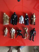 10x Hasbro 90/2000's Star Wars Action Figures Bundle job lot - STAR WARS - (25)
