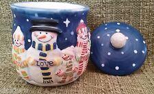 Mini-Crock 3.5 oz Candle Snowmen or Daisy