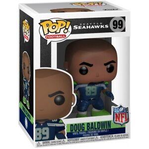 Funko Pop NFL Seattle Seahawks Doug Baldwin Figure w/ Protector