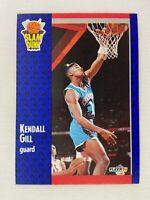 Kendall Gill Charlotte Hornets 1991 Fleer Basketball Card 232