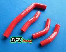 silicone radiator hose FOR Honda CRF250R CRF 250 R 2010-2013 2011 2012,RED
