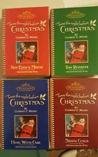 2001 Hallmark Twas the Night Before Christmas Ornaments-Set of 4 Volumes NIB NEW