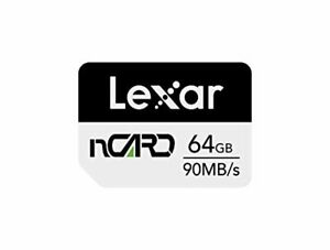 Lexar nCARD 64GB NM Nano Memory Card for Huawei Phones (LNCARD-64GAMZN)