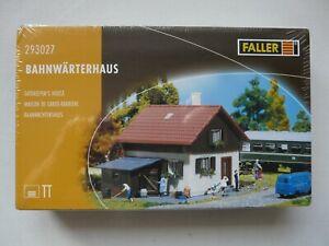 Faller 3027 293027 Spur TT Bausatz Bahnwärterhaus Gebäude Bahnwärter