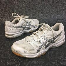 Asics Gel Rocket Womens Sz 10 EU42 Volleyball Training Athletic White Shoes (10