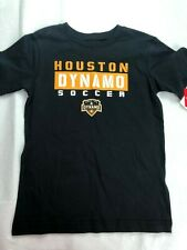 MLS Houston Dynamo Boy's Logo Shirt - Black - Various Sizes - C355