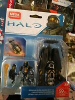Mega Bloks Construx Halo Operation Flood Hunters ODST Drop Pod Set GCM32 NEW