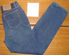 Vintage Levis 501 Button Fly Straight Leg High Waisted Mom jeans SZ 11  28 x 31