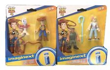 Toy Story 4 Imaginext Basic Figure 2 Pack- Forky & Woody - Combat Carl & Bo Peep
