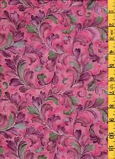 NEW Quilting Sewing Cotton Fabric Jinny Beyer Kasmir Large Gold Floral 898 03