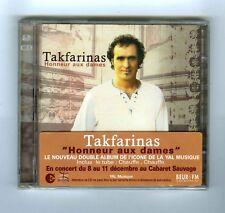 2 CDs (NEW) TAKFARINAS HONNEUR AUX DAMES(YAL MUSIQUE)
