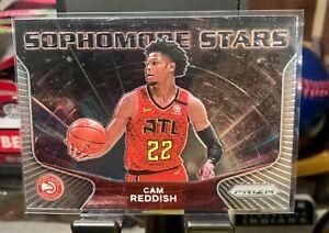 2020-2021 Panini Prizm NBA Sophomore Stars Silver Cam Reddish Hawks