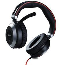 JABRA EVO80D Headset USB Stereo Evolve 80 Lautstärkeregelung Mikrofon Faltbar