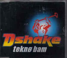 D Shake-Tekno Bam cd maxi single
