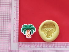 Silicone Mold Palm Tree A877 Candy Chocolate Craft Fondant Soap Fimo Wax Soap