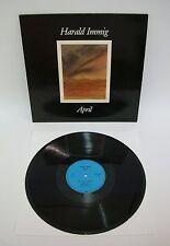 Harald Immig - April | Mit Autogramm / signiert | Teledec 1986 | LP: Near Mint