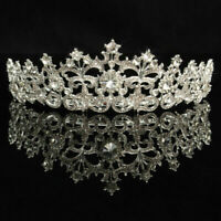 Crystal Rhinestone Hair Headband Crown Comb Tiara Wedding Bridal Tiara
