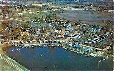 Aerial View, Jet Trailer Park, 5th Ave & 5th Street, Palmetto, Florida FL 1959