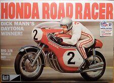 MPC Dick Mann's Honda Road Racer, 1/8, New (2016) Factory Sealed Box