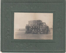 Cab style photo of Staff / Drivers with lorry owned by C Kendall & Co.
