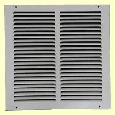 Air Return Vent Cover Grille 12 x 12 White Steel Wall Ceiling Sidewall Duct NEW!