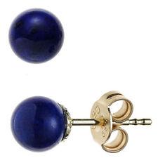 Lapis Lazuli-Echtschmuck aus Gelbgold für Damen