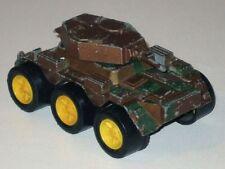Vintage TOOTSIE Toys Diecast Metal US ARMY TANK! Brown & Green Camouflage!