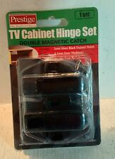 Prestige TV Cabinet Hinge Set, Double Magnetic Catch, 1 Set (5963)