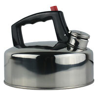 New Yellowstone Camping Stove Kettle Hob Gas Stainless Steel 2 Litre CLEARANCE