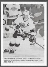 15/16 Porfolio Wire Photos Wayne Gretzky 270 Kings