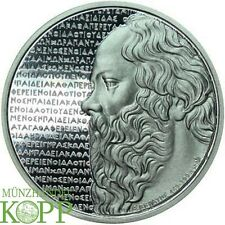 F284) Griechenland 10 Euro 2012 Sokrates SILBER