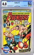 AVENGERS #117 (1973) 1ST PRINTING MARVEL BRONZE AGE CGC VG 4.0