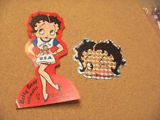 Betty Boop picture and intimates clothing tag 2 pieces total